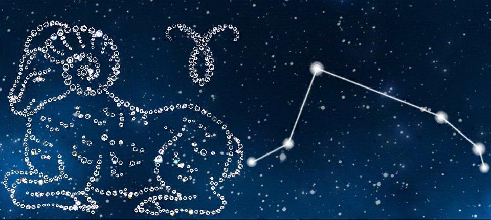 Созвездие овен на небе картинки цена