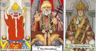 Divinatie Interpretarea şi semnificaţia cărţii de Tarot Marele Preot