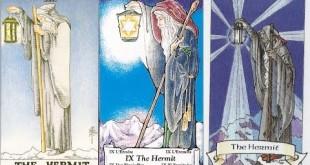 Divinatie Interpretarea şi semnificaţia cărţii de Tarot Pustnicul