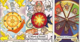 Divinatie Interpretarea şi semnificaţia cărţii de Tarot Roata Norocului