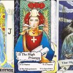 Interpretarea si semnificatiile cartii de Tarot Marea Preoteasa