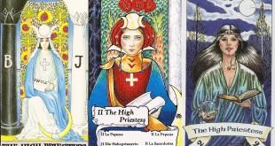 Divinatie Interpretarea şi semnificaţiile cărţii de Tarot Marea Preoteasă