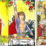 Interpretarea și semnificaţiile cărţii de Tarot Magicianul