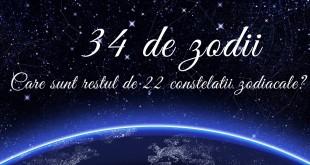 Constelatii Există de fapt 34 de zodii – care sunt restul de 22 de constelaţii zodiacale?